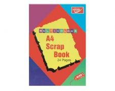 Supreme Scrapbook A4 24 page Assorted Colour